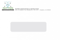 Ritter Accounting & Consulting Envelope - Front