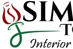 Simple Touch Interior Solutions Logo Vectorization
